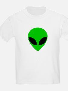 """Alien Head"" Kids T-Shirt"