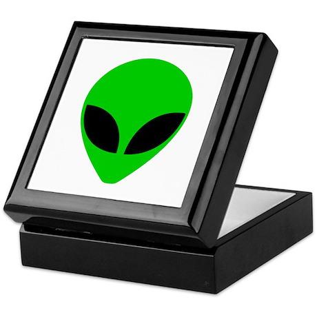 """""""Alien Head"""" Keepsake Box"""