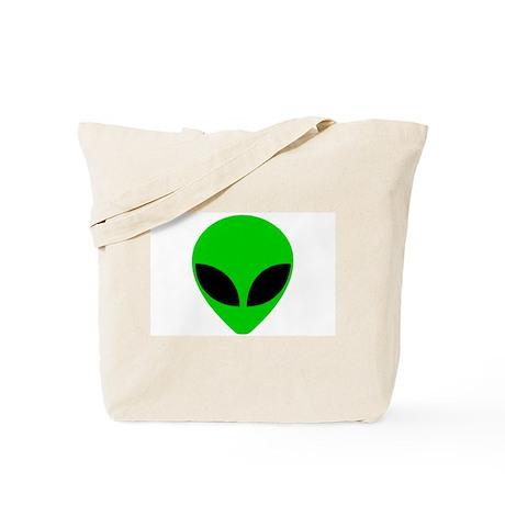 """""""Alien Head"""" Tote Bag"""