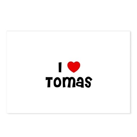 I * Tomas Postcards (Package of 8)