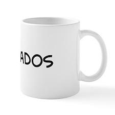I Love Barbados Mug