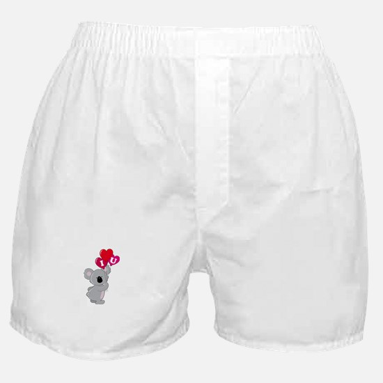 Koala Loves You Boxer Shorts