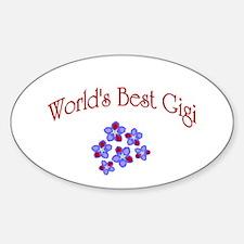gigi Sticker (Oval)