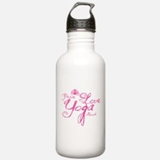 Cute Yoga instructor Water Bottle