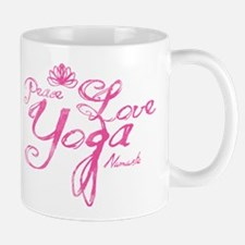 PeaceLoveYoga Mugs