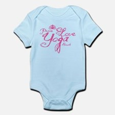 Cute Yoga instructor Infant Bodysuit