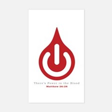 Power in the Blood Decal
