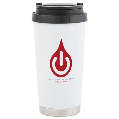 Power in the Blood Stainless Steel Travel Mug