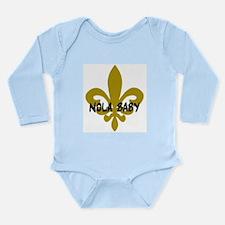 NOLA Baby Long Sleeve Infant Bodysuit