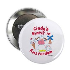 "Snow Friends 2.25"" Button"