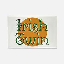 Irish Twin Rectangle Magnet