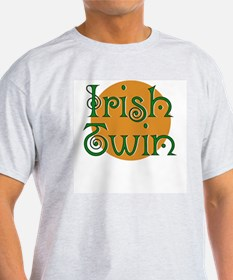Irish Twin Ash Grey T-Shirt