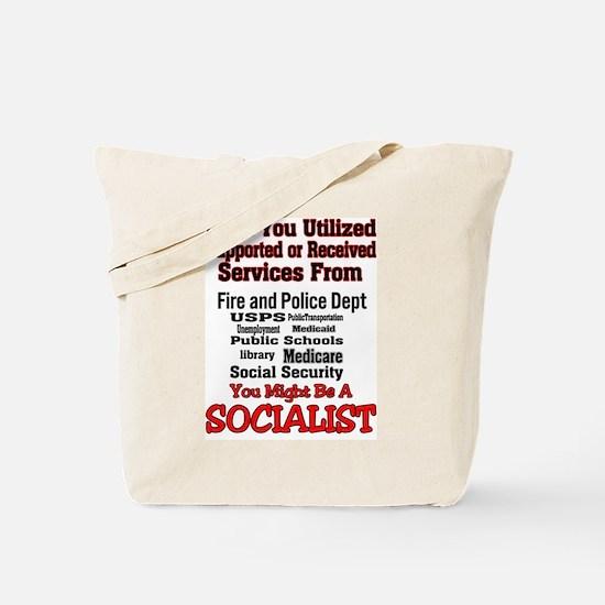 Socialist Tote Bag