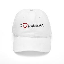 I Love Panama Baseball Cap
