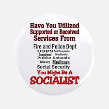 "Socialist 3.5"" Button"