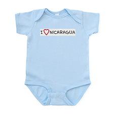 I Love Nicaragua Infant Creeper