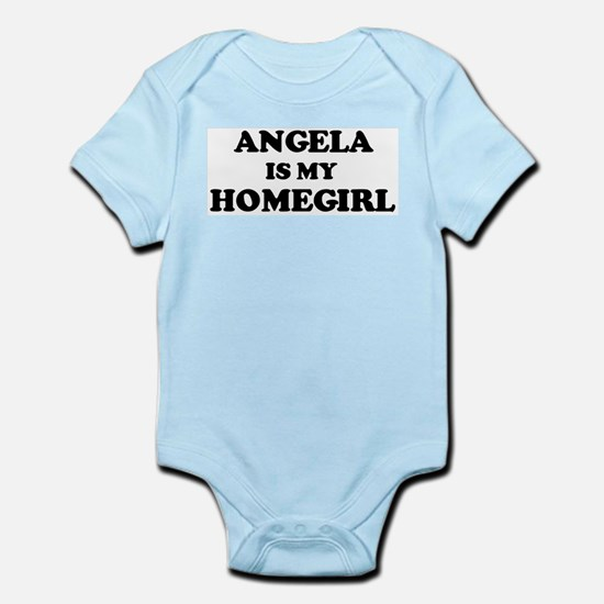 Angela Is My Homegirl Infant Creeper