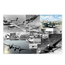 P-38 Postcards (Package of 8)