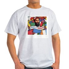 Where's Osama? Ash Grey T-Shirt