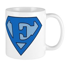 Super Blue E Mug