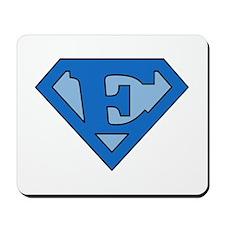 Super Blue E Mousepad