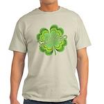 Vintage Lucky 4-leaf Clover Light T-Shirt