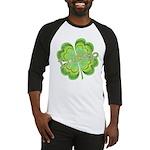 Vintage Lucky 4-leaf Clover Baseball Jersey