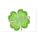 Vintage Lucky 4-leaf Clover Postcards (Package of