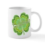 Vintage Lucky 4-leaf Clover Mug