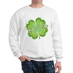 Vintage Lucky 4-leaf Clover Sweatshirt