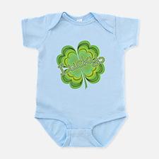 Vintage Lucky 4-leaf Clover Infant Bodysuit