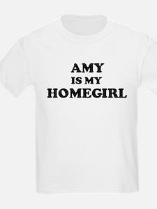 Amy Is My Homegirl Kids T-Shirt