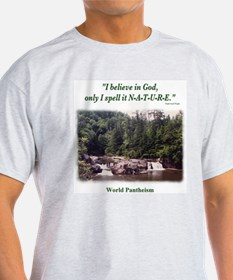 """I Believe In God"" T-Shirt"