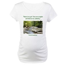 """Nature Is My God"" Shirt"
