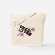 Unique Military spouse Tote Bag