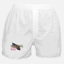 Cute Military spouse Boxer Shorts