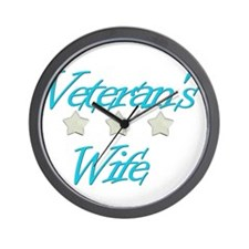 Funny Marine spouse Wall Clock