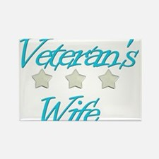 Cute Military spouse Rectangle Magnet
