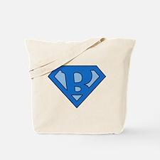 Super Blue B Tote Bag