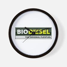 Unique Biodiesel Wall Clock