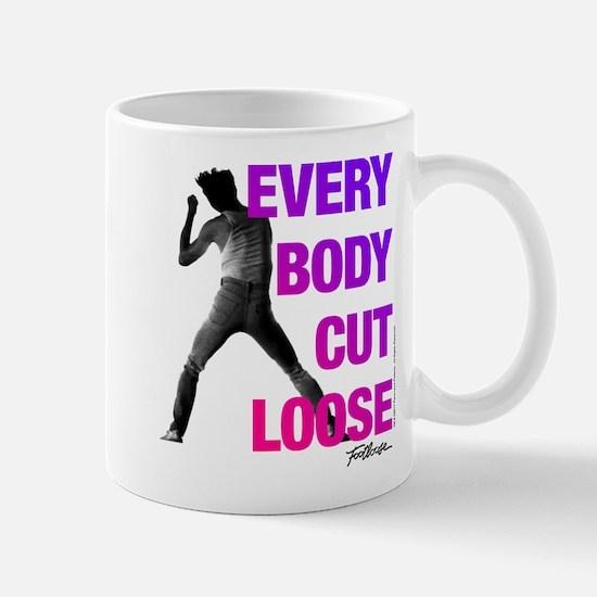 Footloose Everybody Cut Loose Mug