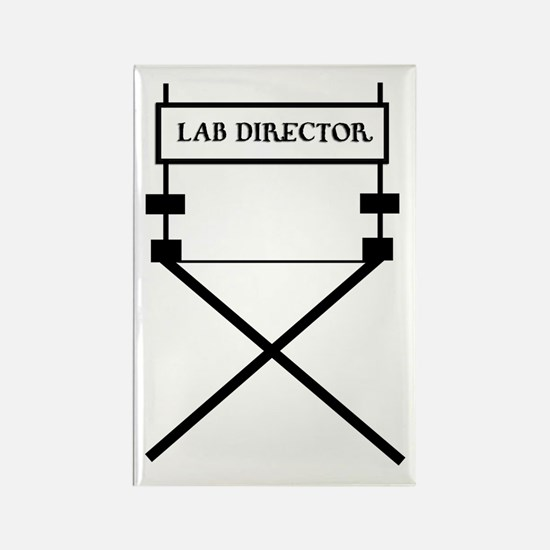 lab director Rectangle Magnet