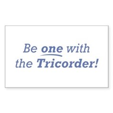 Be one / Tricorder Decal