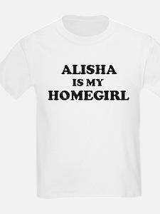 Alisha Is My Homegirl Kids T-Shirt