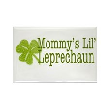Mommy's Leprechaun Rectangle Magnet
