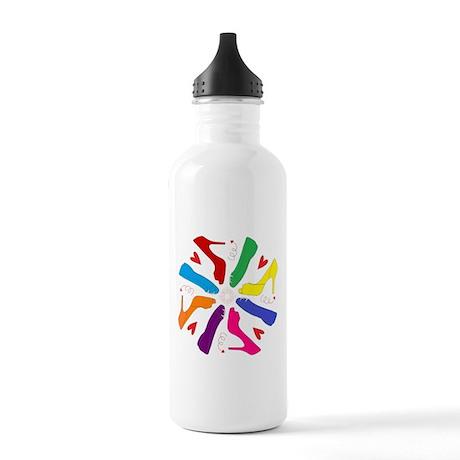 Shoe Mandala Stainless Water Bottle 1.0L