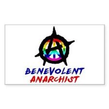Benevolent Anarchist Decal