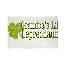Grandpa's Leprechaun Rectangle Magnet