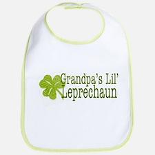 Grandpa's Leprechaun Bib