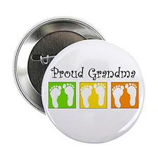 "Proud Grandma (Unisex) 2.25"" Button"